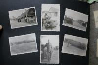 Z rodinného alba: otcovo nasazení na východní frontě.