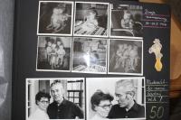 Z rodinného alba: oslava 50. narozenin manželů Engelhartových (1976).