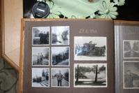 Z rodinného alba: pamětník na dělostřeleckém výcviku (1944).