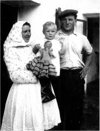 Jana Vozárová s rodiči