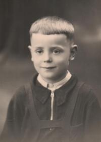 Jiří Frank v době druhé světové války