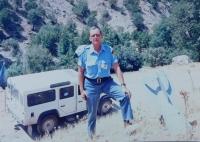 Ladislav Vitoul v misi OSN v Iráku u nevybuchlé protiletecké bomby