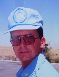 Ladislav Vitoul v misi OSN v Iráku