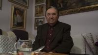 Súčasná fotografia Levka Dohoviča počas rozhovoru