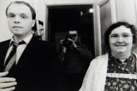 Natáčení filmu Pokoušení, 1987