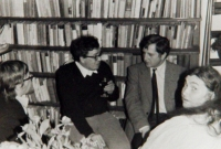 S D. Kroupou, V. Bendou a P. Bratinkou v roce 1984