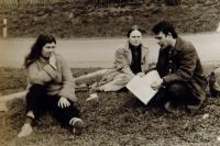 Petruška s H. Šabatovou a P. Uhlem