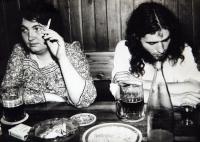 PŠ a J. Placák v roce 1988