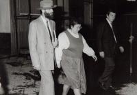 S Janem Rumlem na ministerstvu vnitra v roce 1990