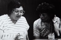 PŠ a Ottka Bednářová v roce 1980