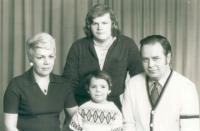 Rodina J. Franka, první žena, syn a dcera