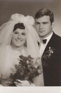 Novomanželé Fürstovi, rok 1969