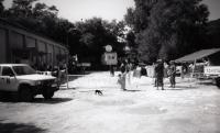 Běženecký tábor v Kninu, 1995