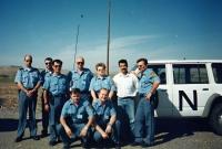 S kolegy z mise v Iráku, 1996-1997