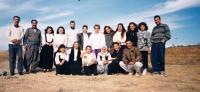 Se studenty z Dohúku, Irák, cca 1996