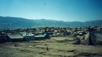 Uprchlický tábor nedaleko Dohúku, Irák, 1996 nebo 1997