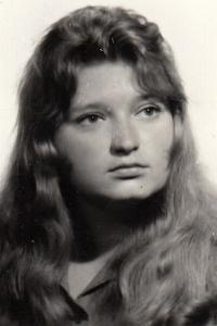 Iva Valdmanová, cca 1975