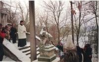 Jan sloužící ve farnosti Doudleby, 1994