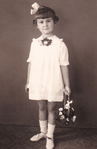 Karolina as a child