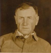 Otec pamětnice František Šesták 1953 po návratu z Jáchymova