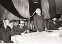 Karel Fáber - generální ředitel jihočeských lesů, po roce 1990