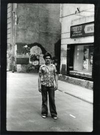 Frýdek-Místek na přelomu 70. a 80. let pohledem Jiřího Hrdiny