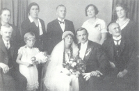 Wedding of the parents