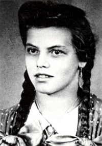 Maria Mayer v mládí