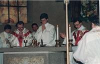 Janova primice v Římě, 1991