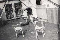 Podkrovní byt, 70. léta