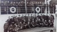 Propuštění z pracovního tábora, návrat z Magadanu na lodi
