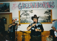Greenhorns během turné po USA, 1990