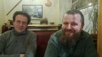 S Danem Vávrou po založení Warhorse Studios, 2013