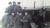 Vězni v pracovním táboře v Magadanu, 1956