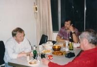 Návštěva Karla Kryla v domě Motyčkových v Kalifornii, 22. dubna 1989