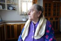Anna Daňková, rod. Kováčová, ako 81-ročná, 2020