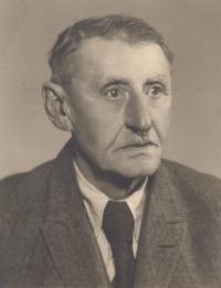 Dědeček František Uher nejstarší