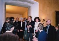 Hana Junová, Olga Havlová, Václav Havel, Markéta Junová, Světový kongres rodinné terapie, 1991