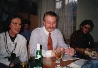 S Vladimírem Řehanem, předávání prezidentství ČMPS