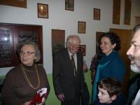 S manželem, dcerou, vnukem a synem