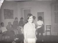 Lobečské dny - výcvik psychoterapeutů, Hana Junová, 1968 nebo 1969