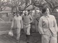 Hana Junová, Michael Clark, hlavní sestra od Maxwella Jonese, Lobeč, 1965