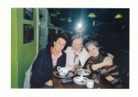 S Táňou Fischerovou a Věrou Roubalovou
