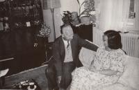 S Alexandrem Dubčekem, 1989