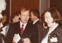 S Václavem Havlem, Světový kongres rodinné terapie, 1991
