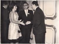 Na kongresu v Londýně, 1964