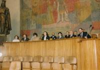 Hana Junová předsedá Světovému kongresu rodinné terapie, 1991
