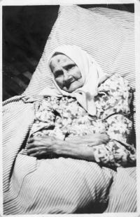 Helena Paleková (teta), žila v rodine Kováčových od roku 1953