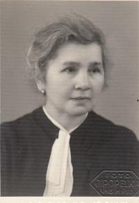 Hermína Vohryzková - babáček