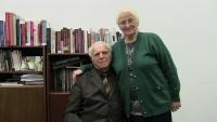 Anton Tomík s manželkou